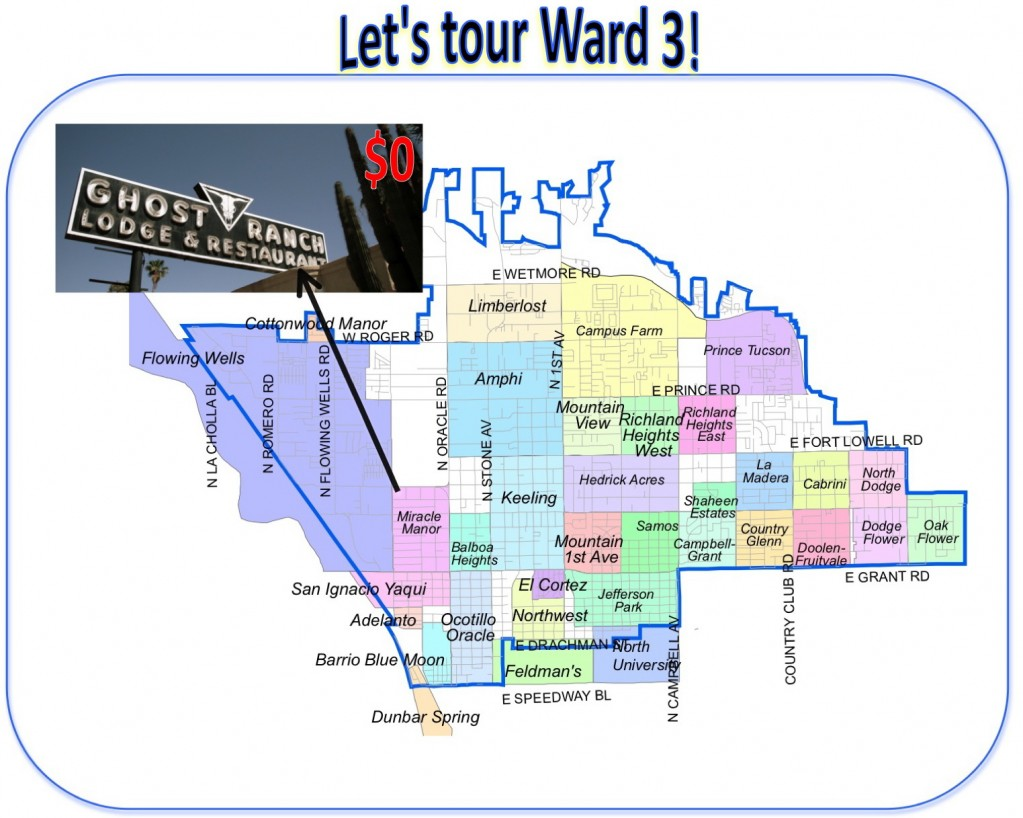 Let's tour Ward 3!